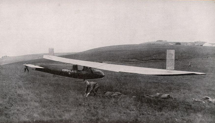 Espenlaub Riesenflugzeug Segelflugzeug Glider Start Rhön 1926